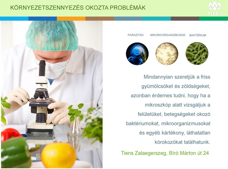 parazitákból származó ózonizált víz)