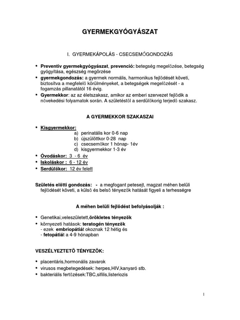 gyógyszerek helminthiasishoz)