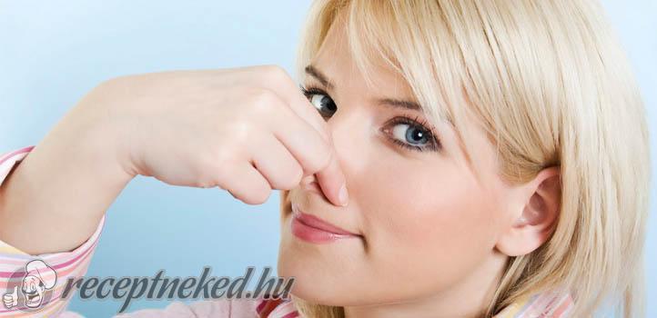 miért van rossz szaga