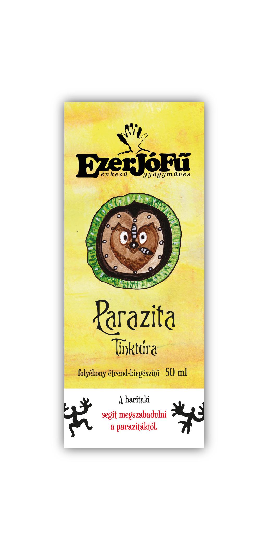 paraziták étrend- kiegészítője