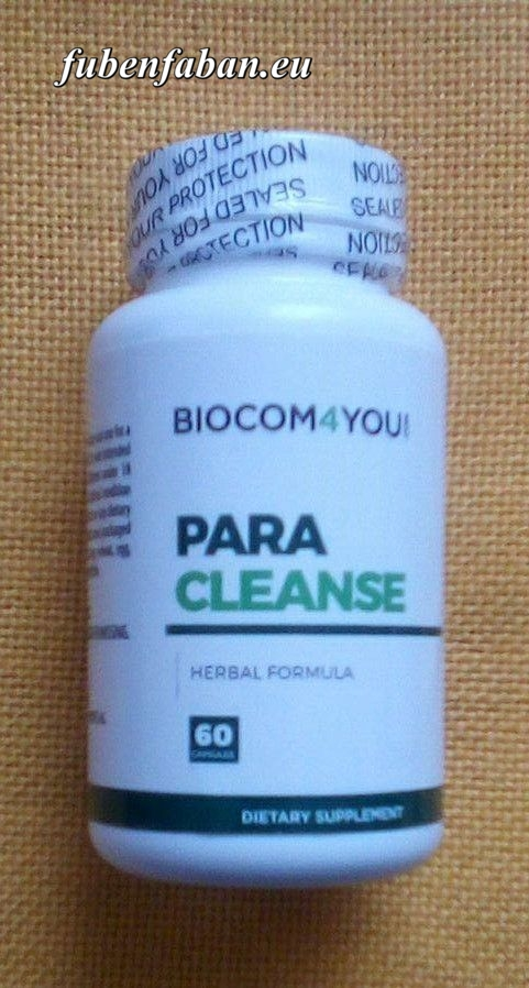 parazita kezelés étrend- kiegészítők)