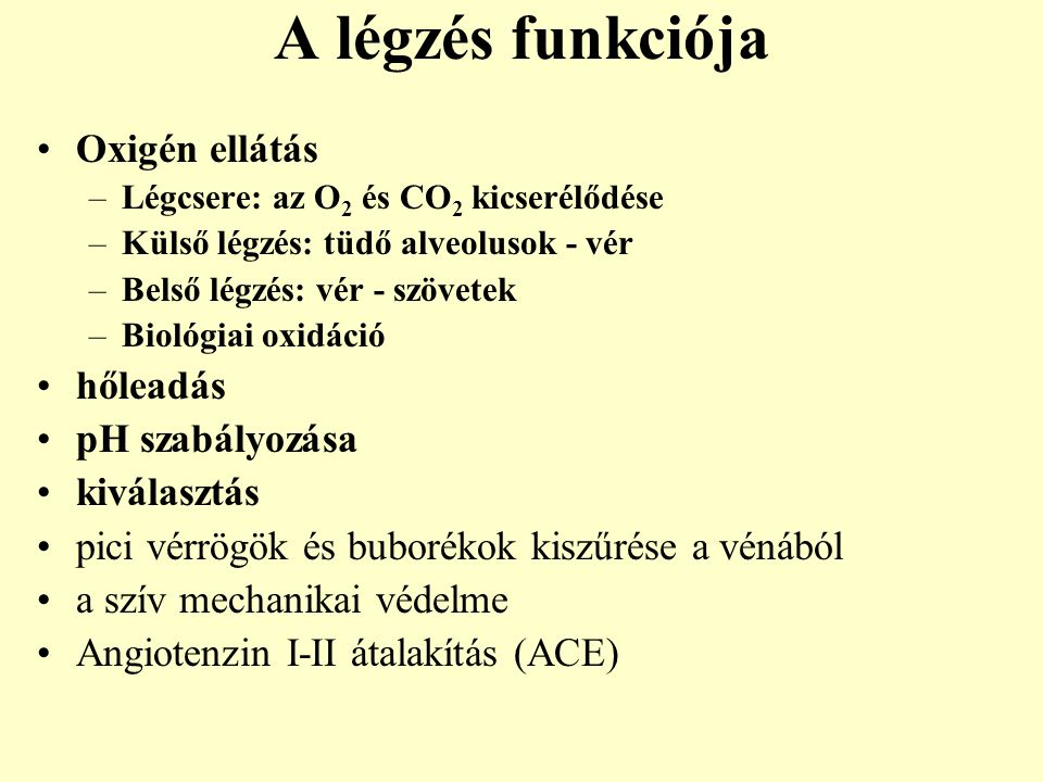 légzési csomók parazita a kollektívában